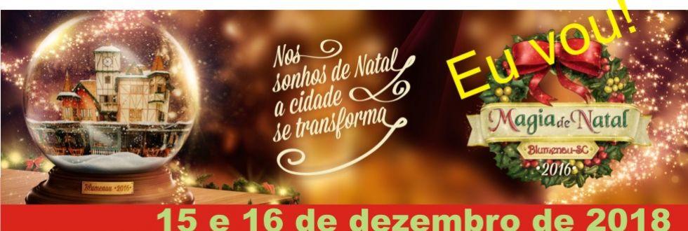 EXCURSÃO PARA MAGIA DE NATAL EM BLUMENAU, COM TIMBÓ E RODEIO.
