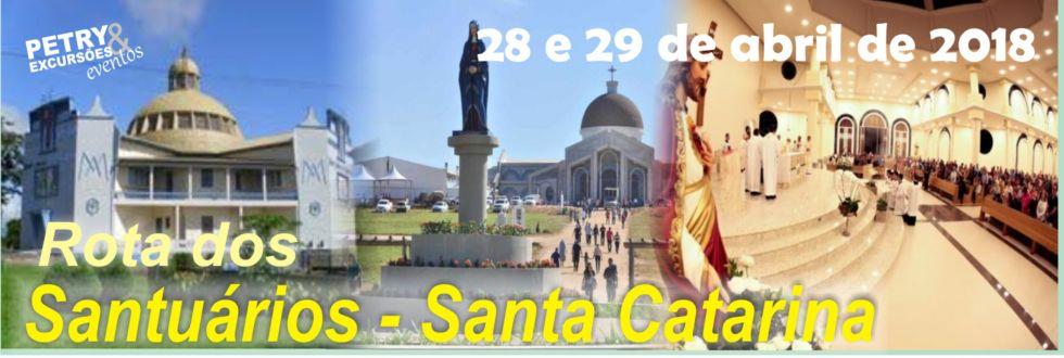 ROTA DOS SANTUÁRIOS DE SANTA CATARINA